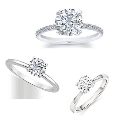 Diamond Solitair Rings