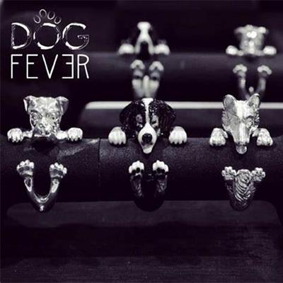 Dog Fever Ring Set