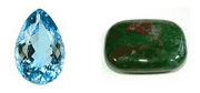 March has two birthstones, Aquamarine and Bloodstone