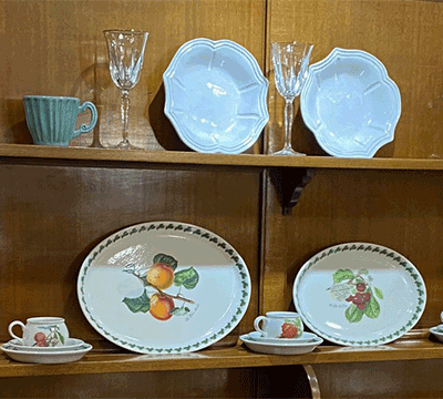Special china plates