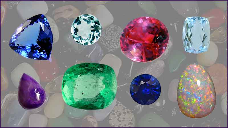 Collection of Gemstones