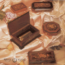 Reuge Music Boxes and Musical Jewelry Boxes