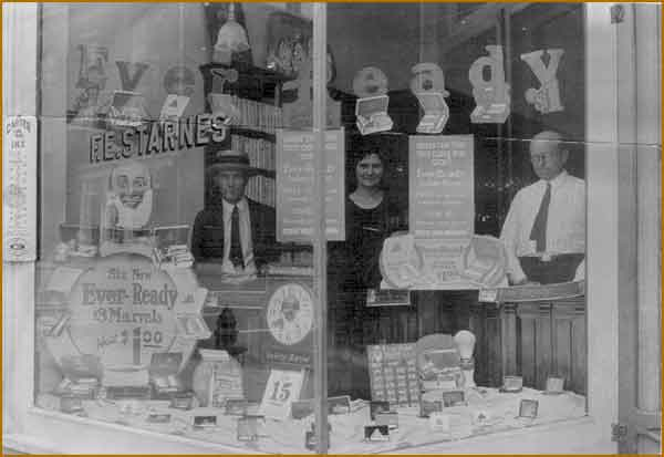 Starnes Jewelers in 1907