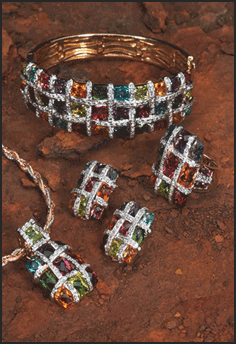 Heavy Colored Jewelry